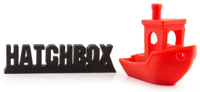Hatchbox benchy