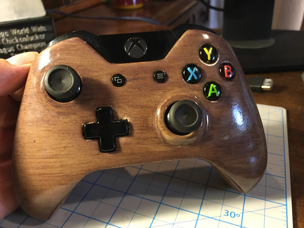 Hatchbox wood XBOX controller