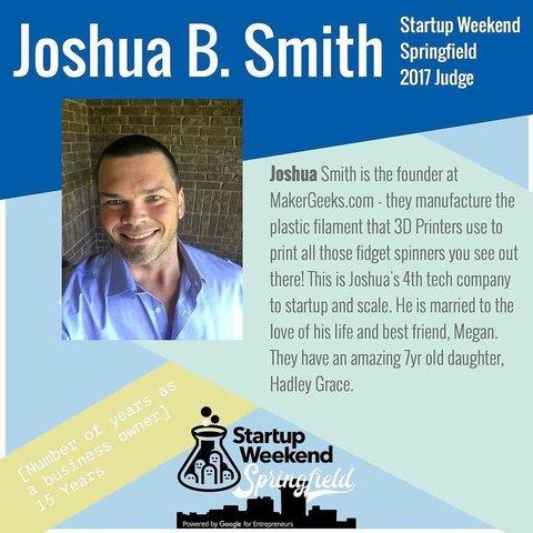 Joshua B. Smith Maker Geeks