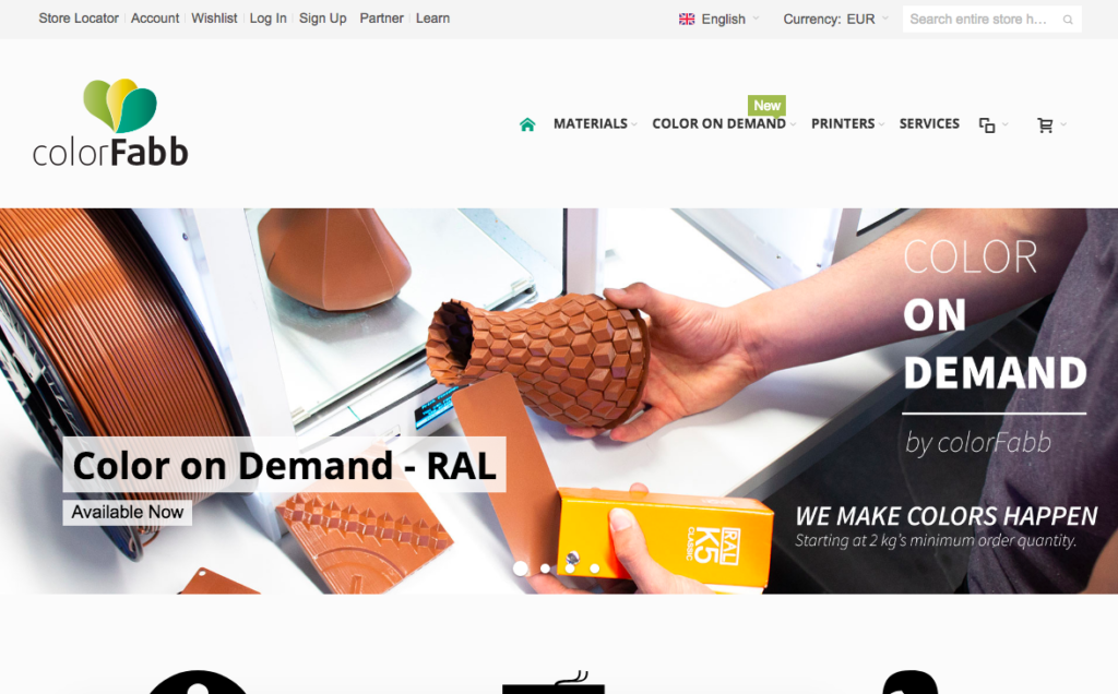 ColorFabb website ColorFabb Filament Review