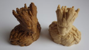 Wooden Groot wood filament