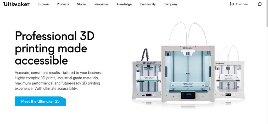 Ultimaker website Ultimaker Filament Review