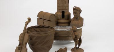 Corkfill wood filament