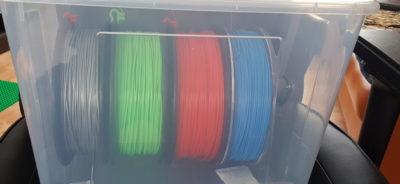 PLA Filament storage
