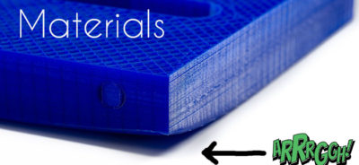 Bed Adhesion Materials