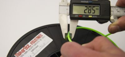 Measure filament calipers