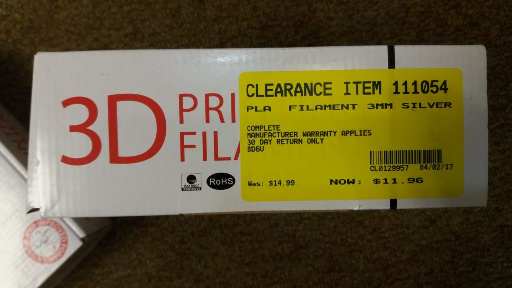 Inland Filament clearance