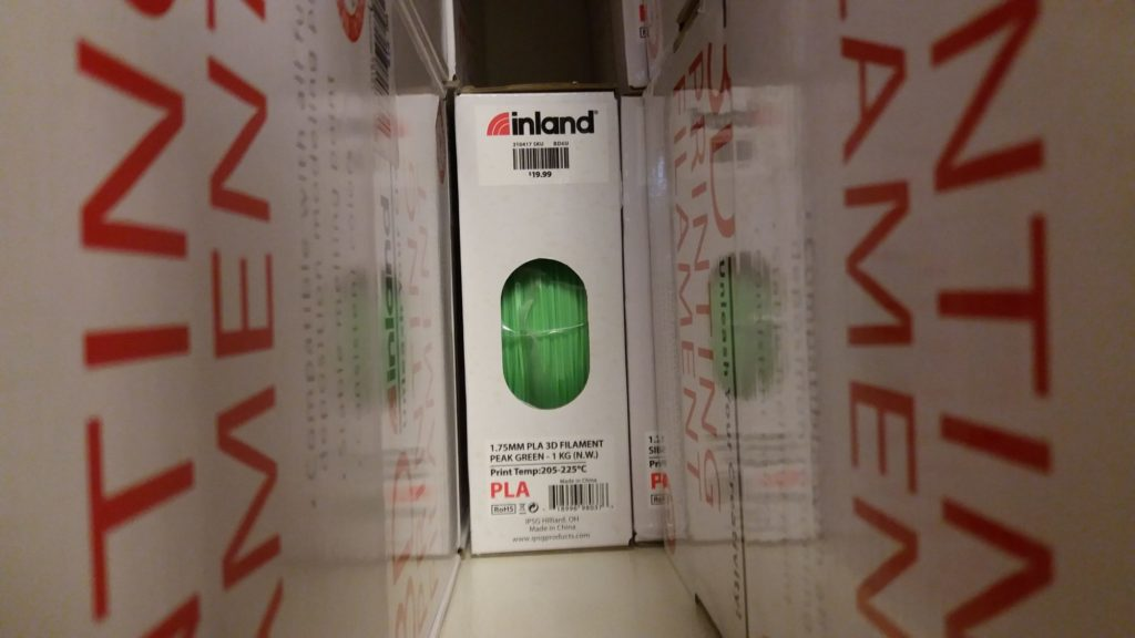 Inland PLA Filament