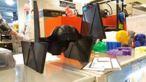 3D Printer Star Wars PLA vs ABS