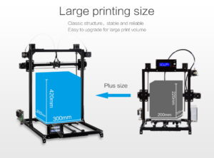 Flsun-3D-Printer-I3-Kit-Full-Metal-Plus-Size-300x300x420mm-Dual-Extruder-Touch-Auto-leveling-Printer